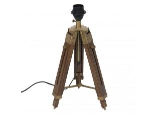 Stolní lampa Tripod bez stínítka tmavší  - 65cm