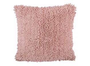 Světle růžový polštář s výplní Myrthe - 45*45cm