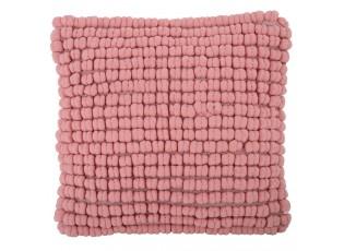 Světle růžový polštář s výplní Luca - 45*45 cm