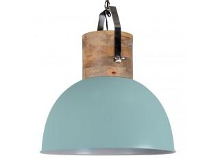 Zelené závěsné kovové retro světlo Fabriano Vintage green - Ø 40*51 cm