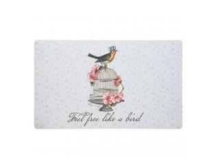 Podlahová rohož Like a Bird - 73 * 44 cm