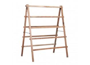 Dřevěný věšák na ručníky žebřík - 100*127*64 cm