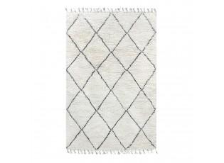 Černobílý koberec - 180*280 cm