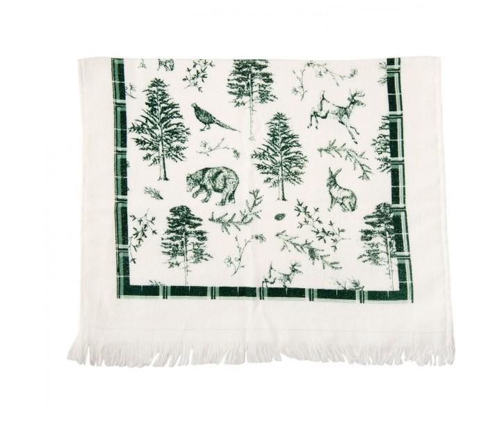 Kuchyňský froté ručník Wild Forest - 40*60 cm