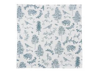 Textilní ubrousky Wild Forest - 40*40 cm - 6ks