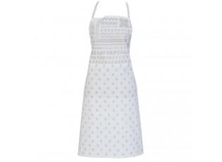 Kuchyňská zástěra Cross stitched pattern - 70*85 cm