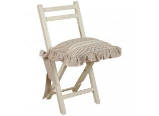 Sedák s kanýrem lower basket natural - 40*40cm