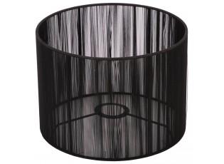 Hnědé provázkové stínidlo na stolní lampu - Ø 30*21cm / E27