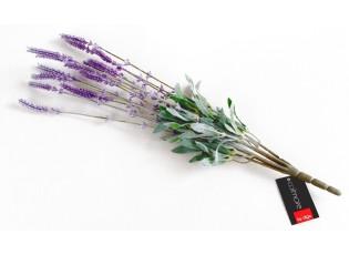 Dekorace větvička levandule  - 48 cm