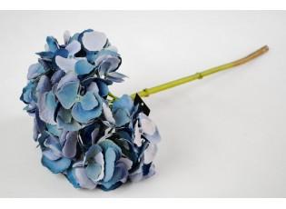 Dekorace modrá  hortenzie - 46 cm