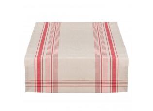 Běhoun na stůl Country Essentials red - 50*140 cm