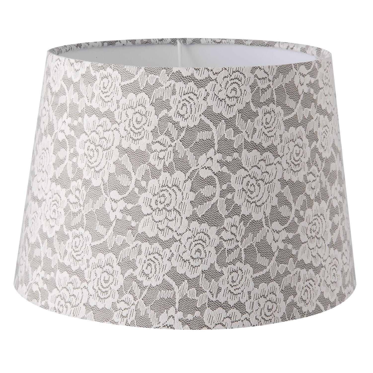 Krajkové stínidlo na lampu - Ø 25*17 cm / E27