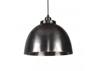 Kovové závěsné kovové světlo Capri antik stříbrná - Ø 32*22 cm