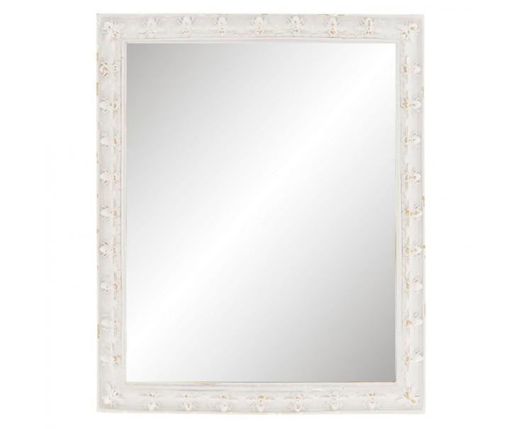 Nástěnné / stolní zrcadlo se včelkami a patinou -  23*2*28 cm