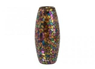 Váza Mosaic Cylinder - Ø14*29 cm