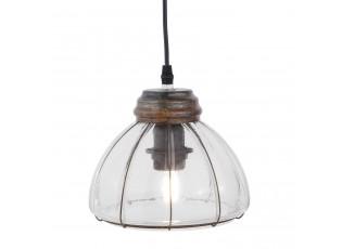 Kovové závěsné světlo - Ø 20*17 cm