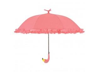 Dětský deštník Flamingo s volánky - Ø 98*79 cm