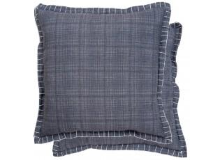 Šedý povlak na polštář - 45*45 cm