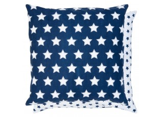 Modrý povlak na polštář Shining for you - 50*50 cm