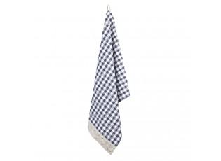 Modrá utěrka Lucky Chicken - 50*70 cm