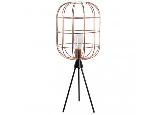 Stolní kovová měděná lampa Olaf - Ø40 x 159 cm