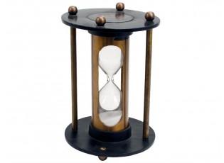 Dekorace přesýpací hodiny - Ø13*19cm