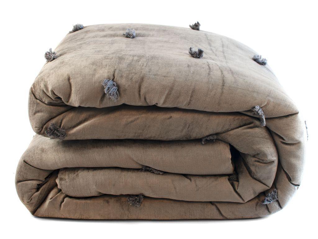 Sametový přehoz na postel Mink - 240*240cm