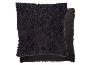 Tmavě šedý povlak na polštář - 45*45 cm