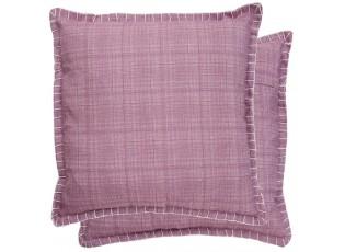Růžový povlak na polštář - 45*45 cm