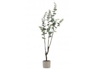Umělá květina Eucalyptus v květináči - 89cm