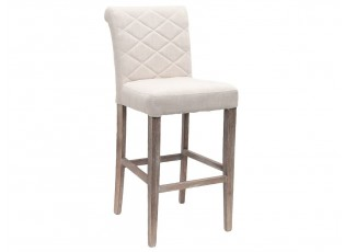 Barová židle Hind natural s patinou - 48*60*112