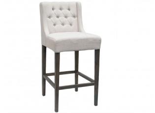 Barová židle Brooke creme  - 52*61*108cm