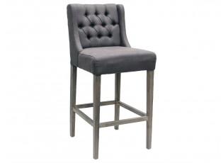 Barová židle Brooke antracite - 52*61*108cm
