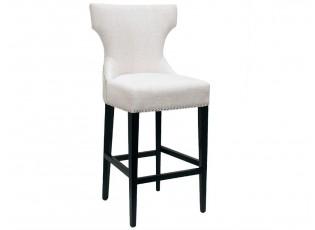 Barová židle Ashley white - 57*60*119cm