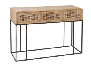 Konzolový stolek se šuplíky Woven - 120*40*80cm