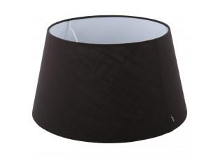 Černé stínidlo na stolní nebo stojací lampu - Ø 37,5*Ø 50*27,5cm / E27