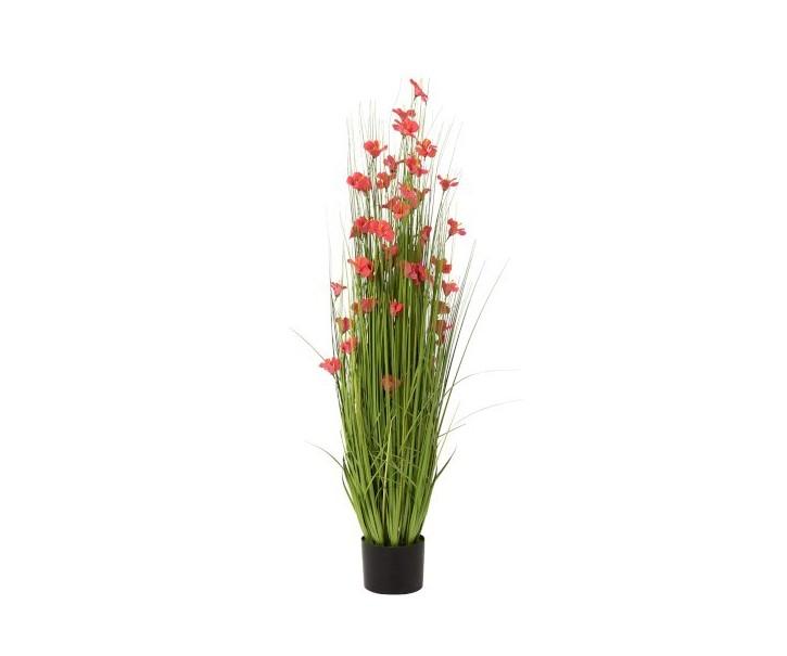 Okrasná tráva s květy - Ø 50*120cm