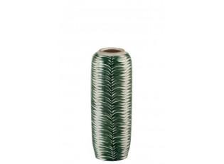 Keramická dekorační váza Tropical - Ø 13*33 cm