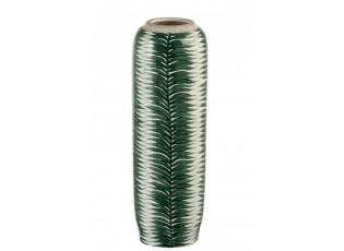 Keramická dekorační váza Tropical - Ø 13,5 *41 cm