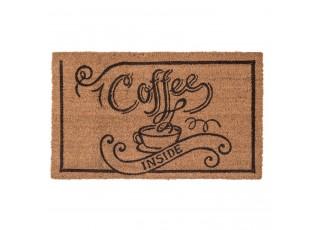 Kokosová rohožka Coffe Inside - 75*45*1 cm