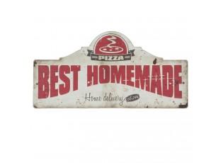 Nástěnná dřevěná cedule Best Homemade - 60*2*30 cm