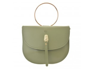 Zelená kabelka do ruky Snahe - 18*14*3 cm