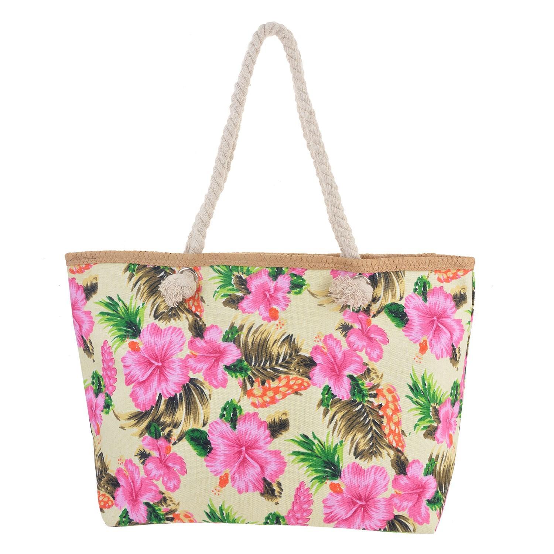 Juleeze Nákupní/plážová taška Hawai - 55*33*13 cm