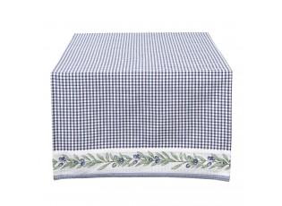 Běhoun na stůl Olive Garden blue -  50*140 cm