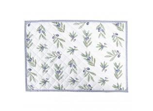 Oboustranné prostírání Olive Garden blue -  48*33 cm - sada 6ks