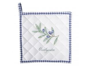 Chňapka - podložka Olive Garden blue - 20*20 cm