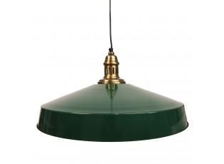 Krémové kovové závěsné světlo antik - Ø 51*22 cm