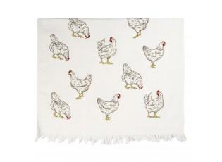 Kuchyňský froté ručník Lucky Chicken - 40*60 cm
