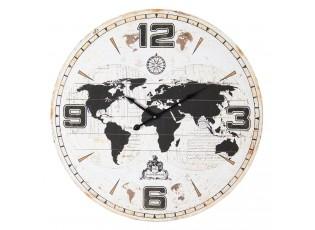 Nástěnné hodiny Mappemonde - Ø 60*5 cm