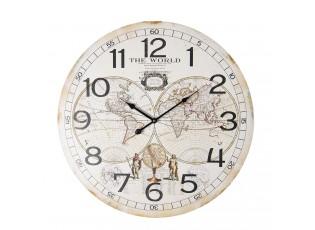 Nástěnné hodiny The World - Ø 60*5 cm